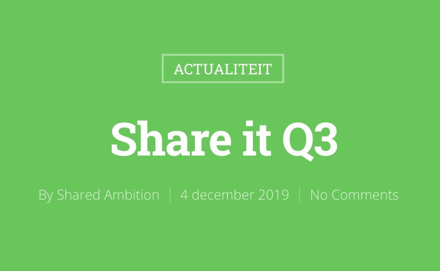 Share it Q3
